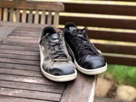 Kenkien puhdistus SINI-tomuliinalla