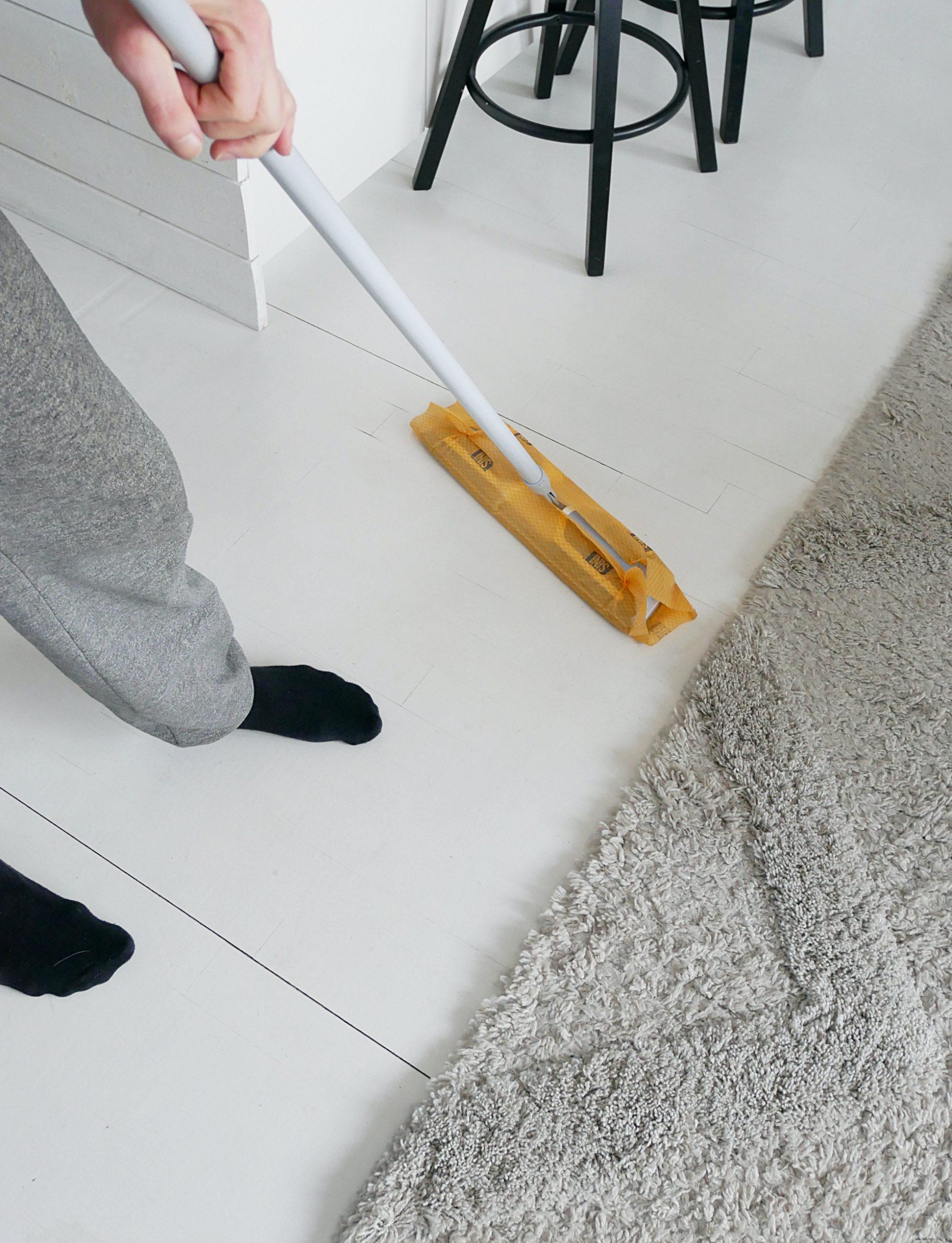 Koronakaranteeni siivouspäiväkirja