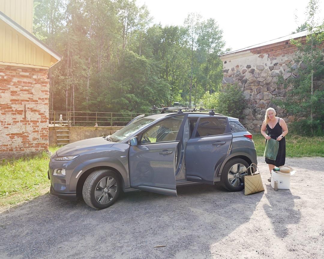 Autoilu kesälomareissu